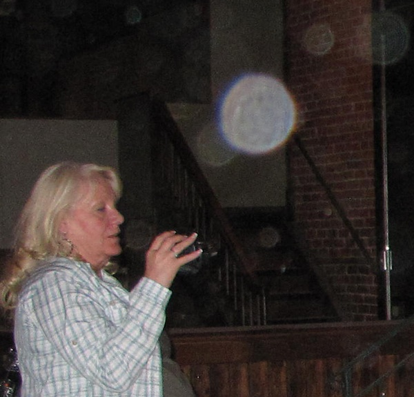 Linda with Orbs